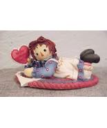 Raggedy Ann with Paper Heart...Enesco (retired)....Enesco #640468 - $14.01