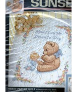 Baby Hugs Sunset SWEET PRAYER Stamped Cross Stitch Kit 13088 - $30.52