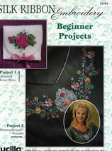 Silk Ribbon Embroidery Beginner Projects - $3.50