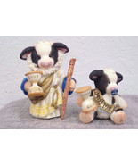 Marys Moo Moos Millennium Fathertime and Baby (Retired) - $46.74