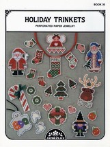 Holiday Trinkets Perforated Paper Jewelry Astor Place Cross Stitch Pattern - $3.95