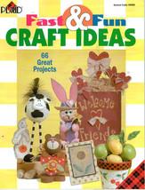 Fast & Fun CRAFT IDEAS + FULL Patterns Plaid Book - $6.35