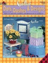 Dots~Dashes & Designs Fun to Paint Book Plaid - $6.35