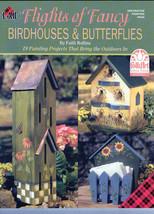 Flights of Fancy Birdhouses and Butterflies Book - $6.35