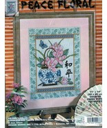 Design Works ~PEACE FLORAL~Counted Cross Stitch Kit #9986 - $18.56