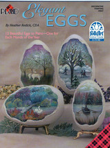 Plaid Learn to Paint~Elegant Eggs.... Painting Book - $6.35
