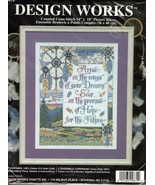 Design Works ~ARISE ON THE WINGS~Counted Cross Stitch Kit #9872 - $18.55
