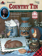 Plaid Paint on Tin ~COUNTRY TIN~Painting Book - $6.35