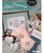 Silk Ribbon  Embroidery Book Monograms and More - $5.90