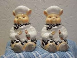 Baker PIGS Salt & Pepper Shakers Youngs Creations - $12.19