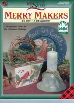 Merry Makers Donna Dewberry Painting Book*** - $6.35