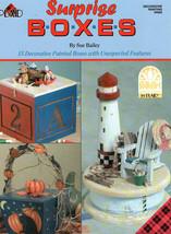 Surprise Boxes ~Sue Bailey Plaid Painting Book - $5.89