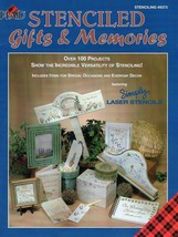 Stenciled Gifts And Memories Plaid Book - $6.35