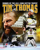 Tim Thomas Boston Bruins Stanley Cup MVP PP 8X10 Color Hockey Memorabili... - $4.99
