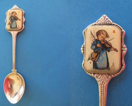 HUMMEL CHRISTMAS Souvenir Collector Spoon 1986 Vintage Collectible KIDS ... - $7.95