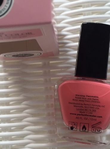 Perfect Formula Perfect Color Nail Polish in Bouquet (SALMON CORAL) And Delicate