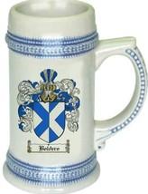 Boldero Coat of Arms Stein / Family Crest Tankard Mug - $21.99