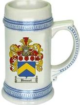 Bonnot Coat of Arms Stein / Family Crest Tankard Mug - $21.99
