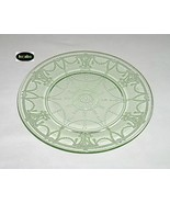 Cameo Ballerina Green Plate 9 1/2 in. Dinner Hocking - $21.00