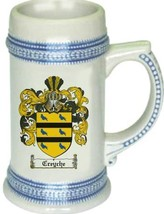 Creyche Coat of Arms Stein / Family Crest Tankard Mug - $21.99