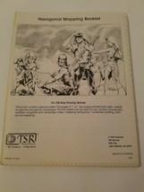 Hexagonal Mapping Booklet 8007 D&D Tsr Dungeons Dragons Graph Paper 1981 - $33.61