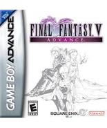 Final Fantasy V 5 Advance GBA Nintendo Game Boy Advance SP Tested DS Lite DSI - $22.00