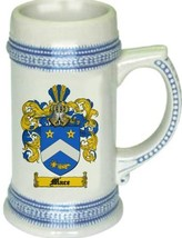 Mace Coat of Arms Stein / Family Crest Tankard Mug - $21.99