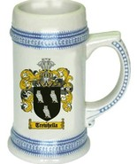 Trewhella Coat of Arms Stein / Family Crest Tankard Mug - $21.99