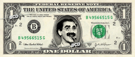 GROUCHO MARX Julius Henry on REAL Dollar Bill Cash Money Bank Note Currency - $4.44