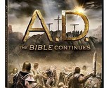 A.D.: THE BIBLE CONTINUES DVD - [4 DISCS] - NEW UNOPENED
