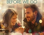 BEFORE WE GO BLU-RAY - SINGLE DISC EDITION - NEW UNOPENED - CHRIS EVANS