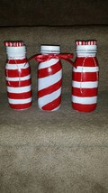 Peppermint Candy Decorative Bottle Set - $8.00