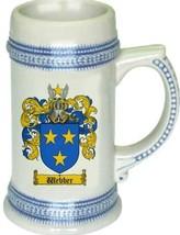 Weber Coat of Arms Stein / Family Crest Tankard Mug - $21.99