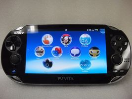 Sony PlayStation Vita Latest Model- Black Handh... - $209.99