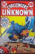 CHALLENGERS OF THE UNKNOWN #80 (1973) DC Comics Jack Kirby art VG+ - $9.89