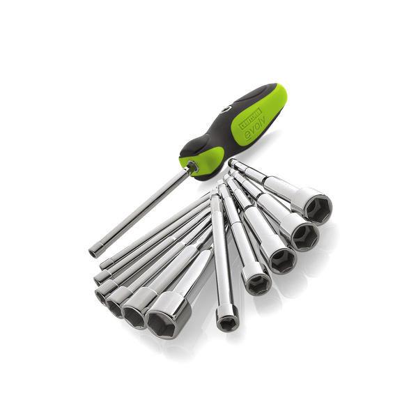 nut driver set quick fit craftsman hand tools sae metric case garage socket kit screwdrivers. Black Bedroom Furniture Sets. Home Design Ideas