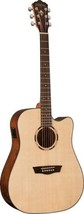 Washburn WLD10SCE Woodline Dreadnought Solid Sp... - $369.00
