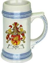 Kahler Coat of Arms Stein / Family Crest Tankard Mug - $21.99