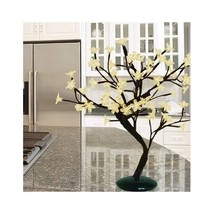 Flower Table Lamp White Lights Night Light Desk... - $44.00