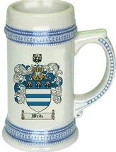 Write Coat of Arms Stein / Family Crest Tankard Mug - $21.99