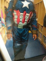 Captain America Avengers Halloween Costume Size Small - $7.00