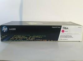 HP 116A Magenta Toner Cartridge W2063A  Laser Original New Sealed Genuine - $47.40