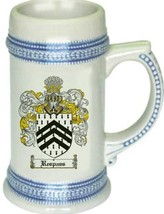 Respass Coat of Arms Stein / Family Crest Tankard Mug - $21.99