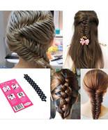 Womens Hair Roller With Hook Magic Twist Braiding Braider Tool Styling B... - $1.89