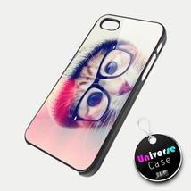 Cute Hipster Cat iPhone 5 Case Hard Plastic - $15.99