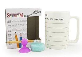 eSmart Creative Ceramic Schedule Mug - Organize Office Students Study an... - £11.29 GBP