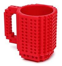 1 X Build-On Brick Mug Red 12 Oz Coffee Mug [Kitchen] - £12.99 GBP