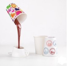Coffee Cup Light Lampshade Usb/battery Power Source - £8.69 GBP