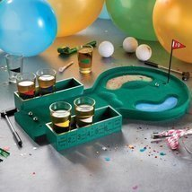 eSmart Creative Novelty Golf Drinking Game Set (With 6 Shot Glasses) Dri... - $29.79