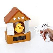 Best mall LCD Screen Cuckoo Alarm Clock House Clock With Gun,Shoot The B... - $29.69
